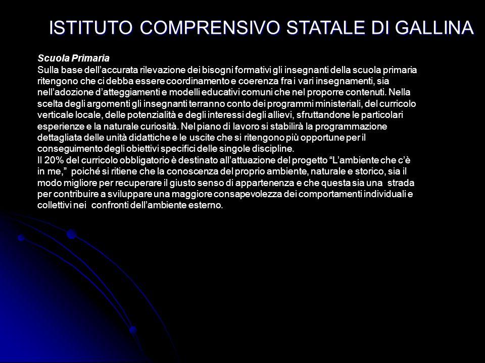 ISTITUTO COMPRENSIVO STATALE DI GALLINA PLESSO ARANGEA CLASSIALUNNIINSEGNANTIORARIO Dal lunedi al sabato 8,30- 13,00 Tot. h 30 set. 27 obblig. + 3 opz