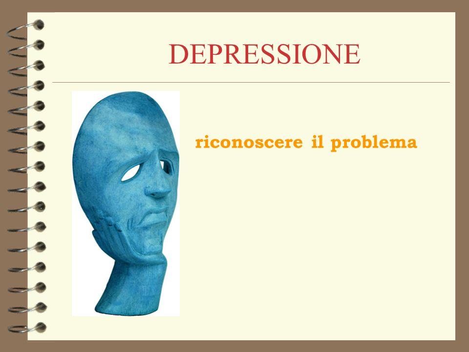 DEPRESSIONE riconoscere il problema