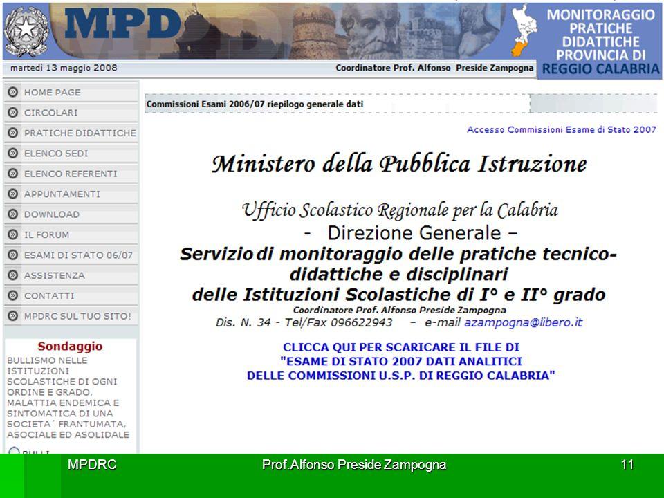 MPDRCProf.Alfonso Preside Zampogna11