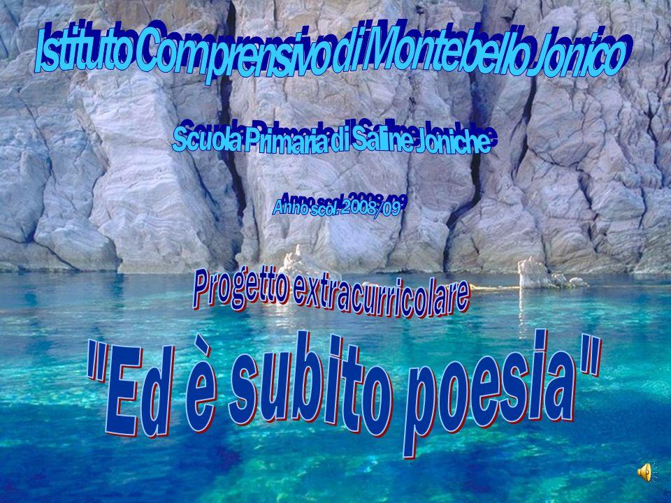 ED E SUBITO POESIA… << A far nascere la poesia,non sono state le cose, bensì il modo di guardarle e di dirle.