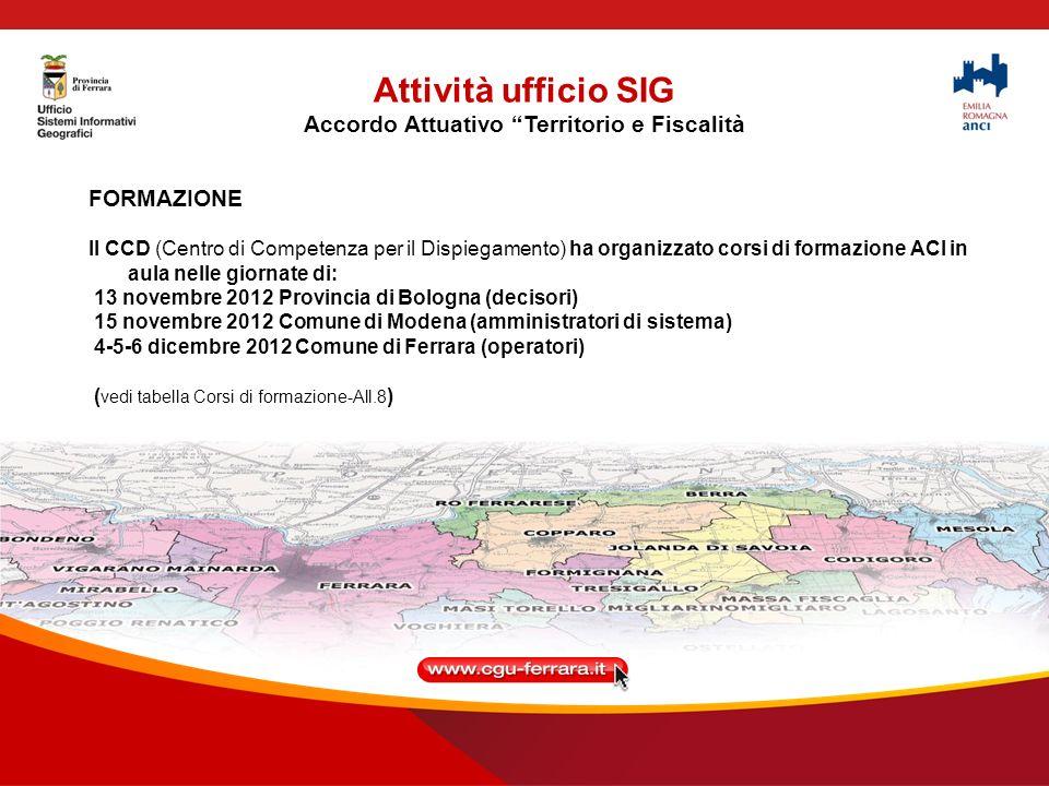 Attività ufficio SIG MOKA PSC
