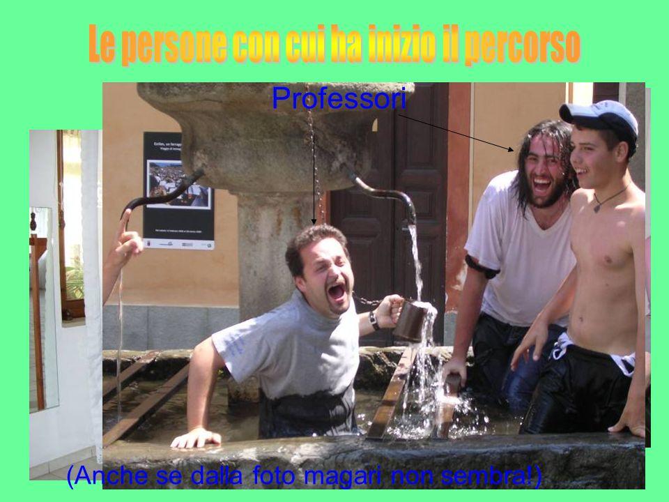 Professoressa Professore Professori (Anche se dalla foto magari non sembra!)