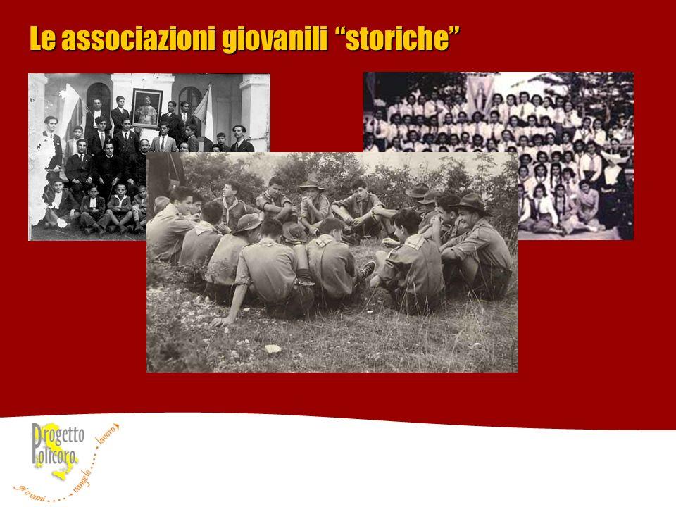 Le associazioni giovanili storiche
