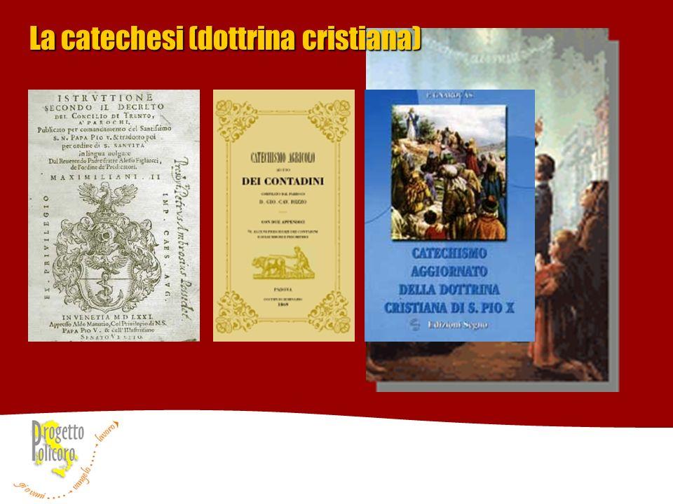 La catechesi (dottrina cristiana)