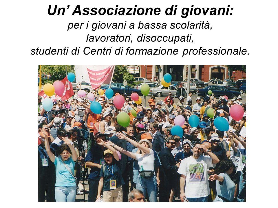 La passione educativa ed evangelizzatrice con e per i giovani per una nuova cultura del lavoro, della partecipazione e della cooperazione.