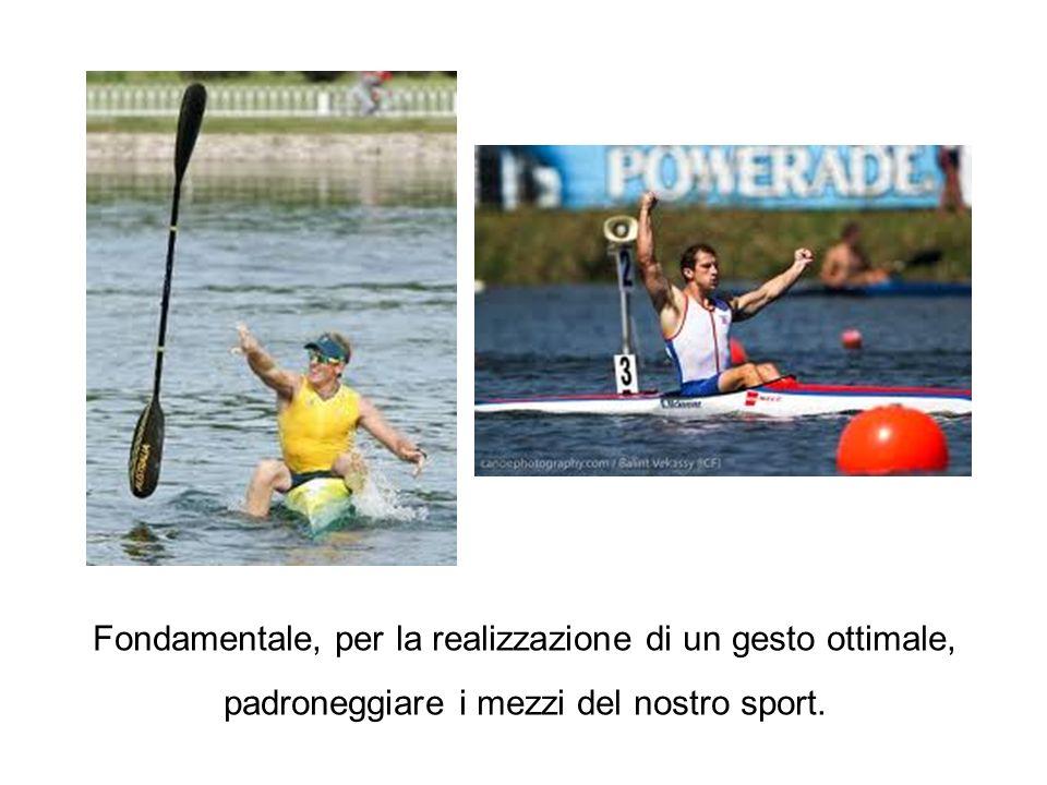 Fondamentale, per la realizzazione di un gesto ottimale, padroneggiare i mezzi del nostro sport.