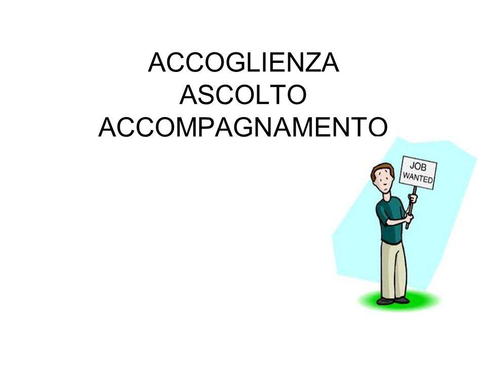 ACCOGLIENZA ASCOLTO ACCOMPAGNAMENTO