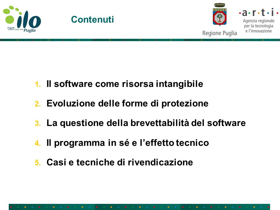 1.Il software come risorsa intangibile Cosè un software.