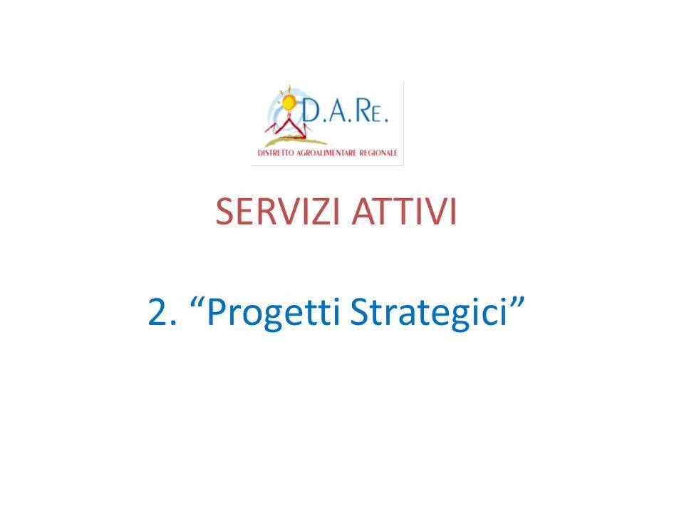 SERVIZI ATTIVI 2. Progetti Strategici