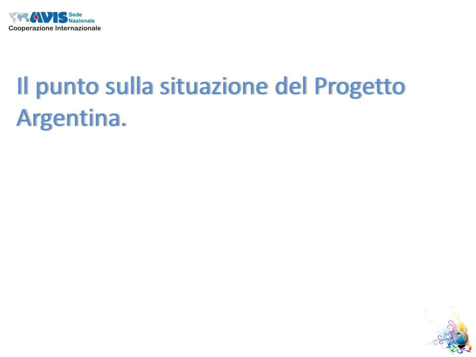 Il punto sulla situazione del Progetto Argentina.