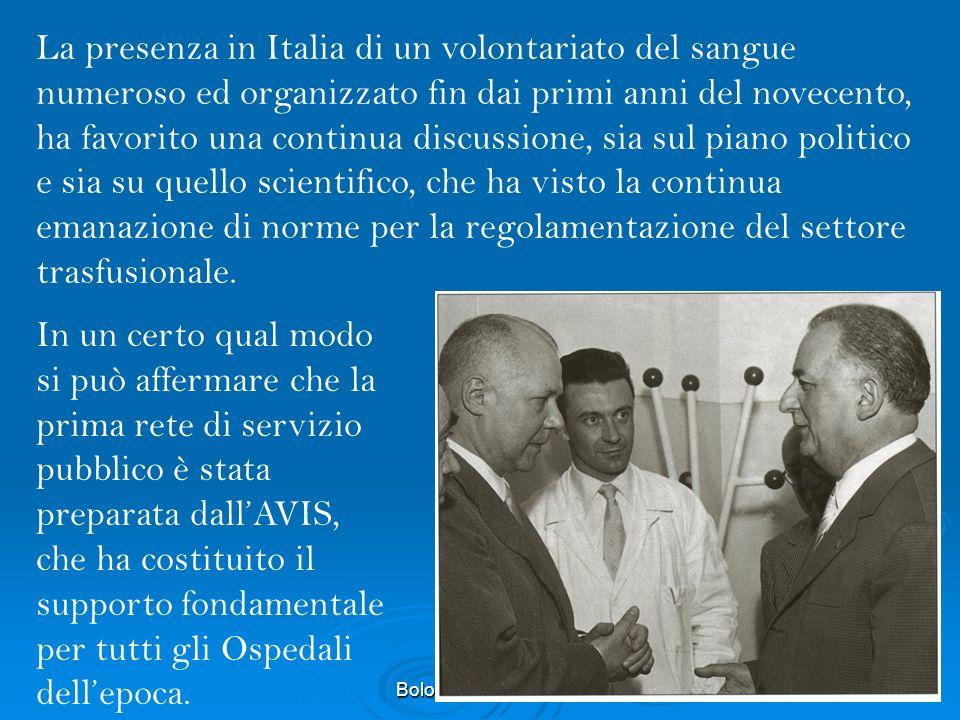 Bologna 12 ott 201145 IL CAMBIAMENTO c.1 LAssociazione Avis Comunale di..