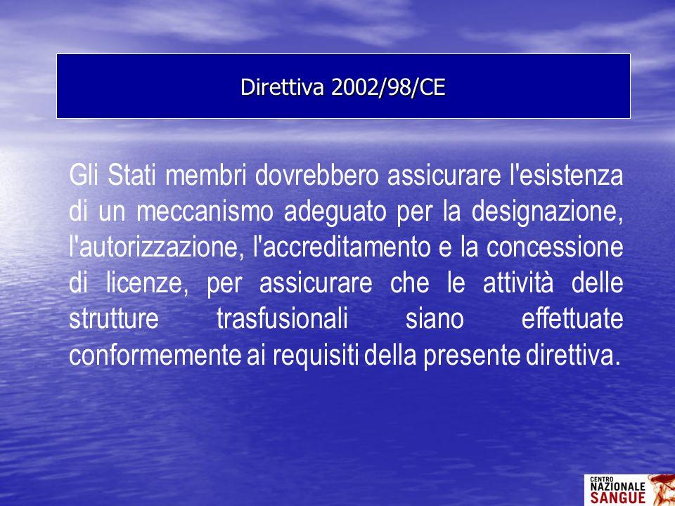 Gli Stati membri dovrebbero assicurare l'esistenza di un meccanismo adeguato per la designazione, l'autorizzazione, l'accreditamento e la concessione
