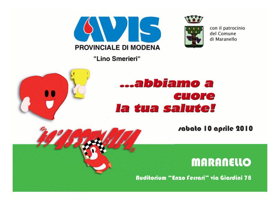 52 Collaborazione con la Fondazione Cassa di Risparmio di Modena … Grazie al sostegno della Fondazione è stato possibile, anche nel corso dellanno 2009, realizzare una serie di progetti per meglio strutturare lattività della nostra Avis Provinciale.