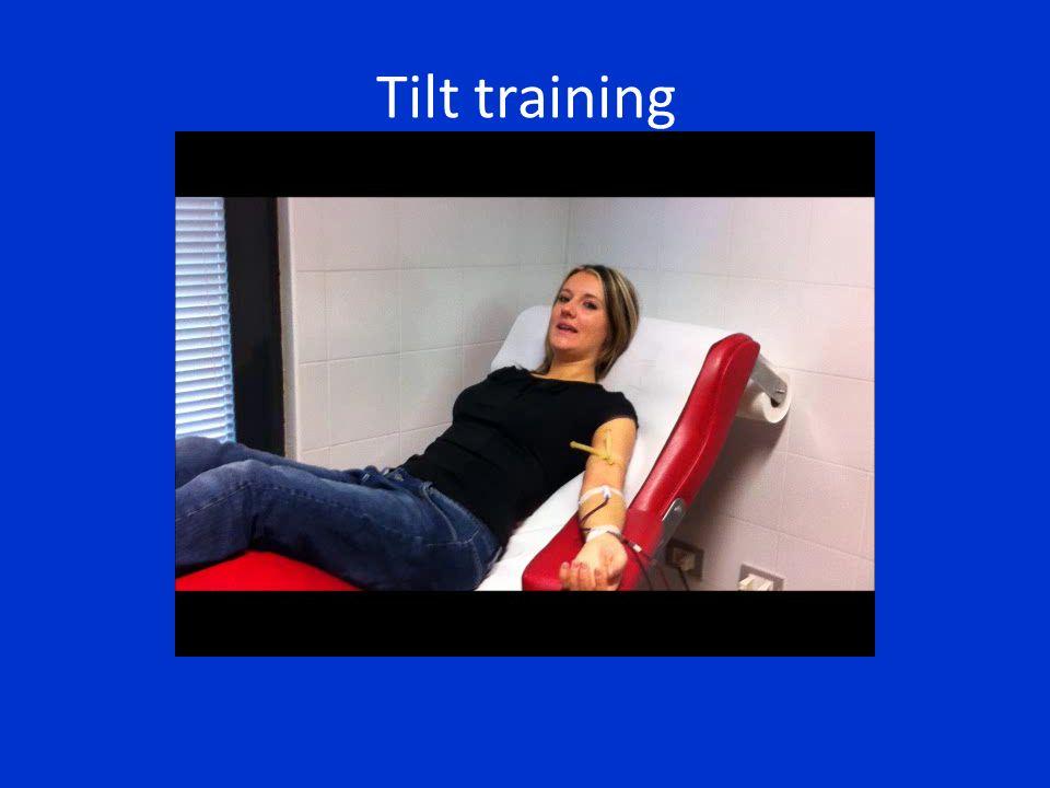 Tilt training