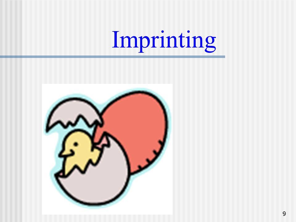 9 Imprinting