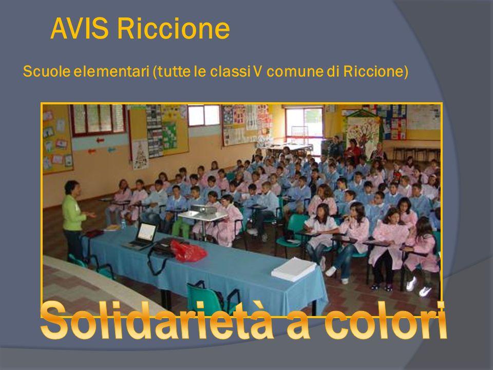 AVIS Riccione Scuole elementari (tutte le classi V comune di Riccione)