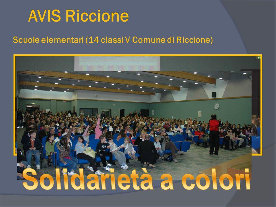 AVIS Riccione Scuole elementari (14 classi V Comune di Riccione)