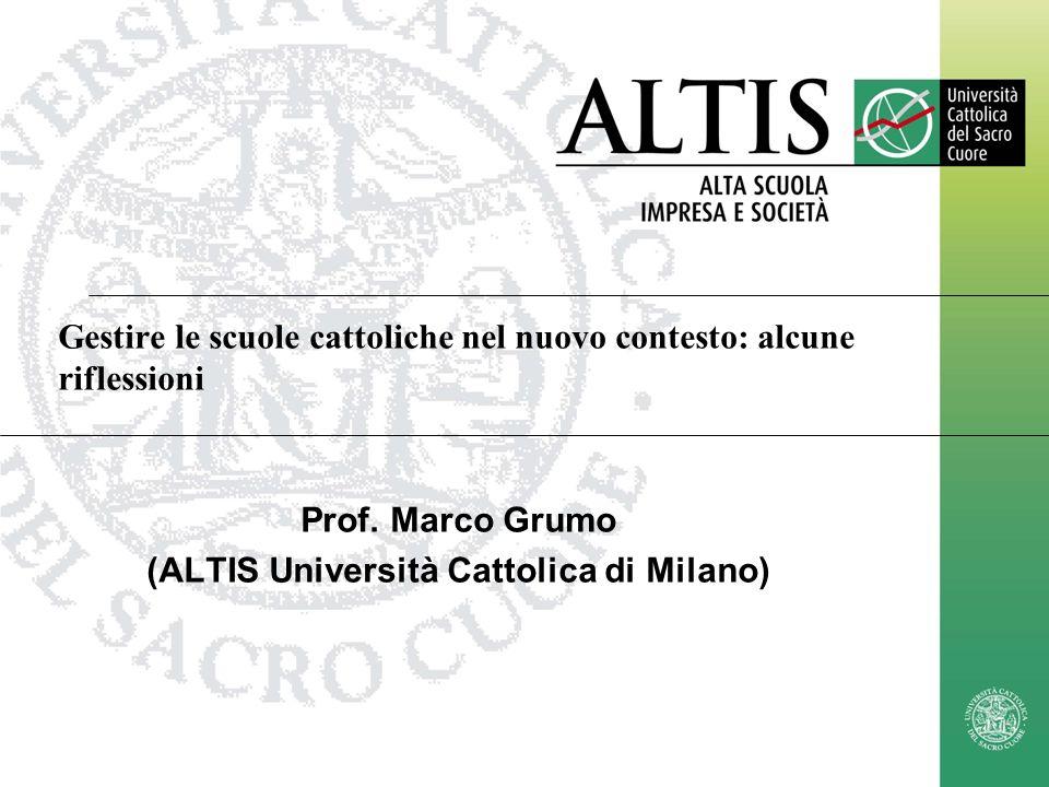 marco.grumo@unicatt.it12 Prof.