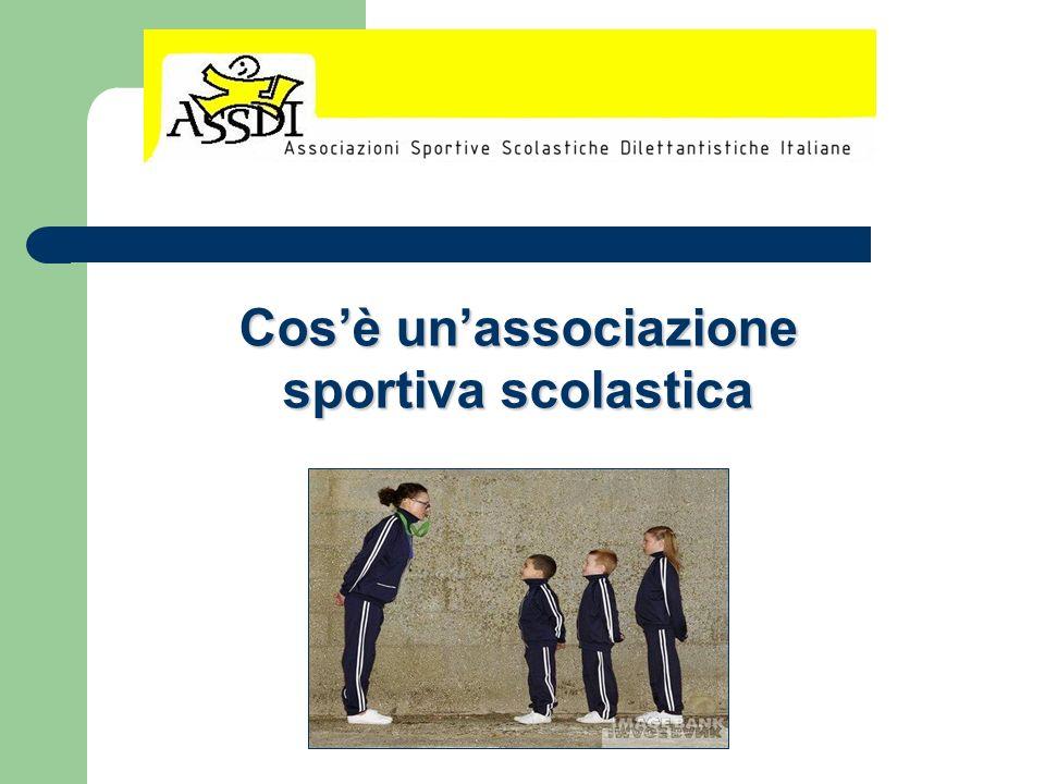 Cosè unassociazione sportiva scolastica