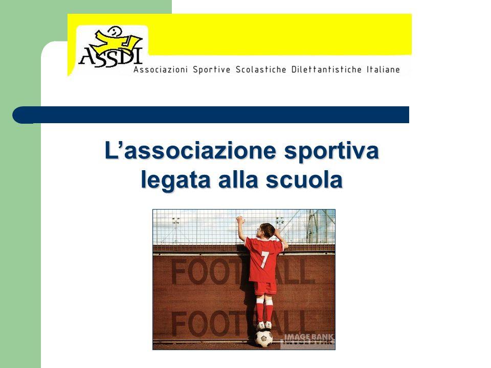 Lassociazione sportiva legata alla scuola