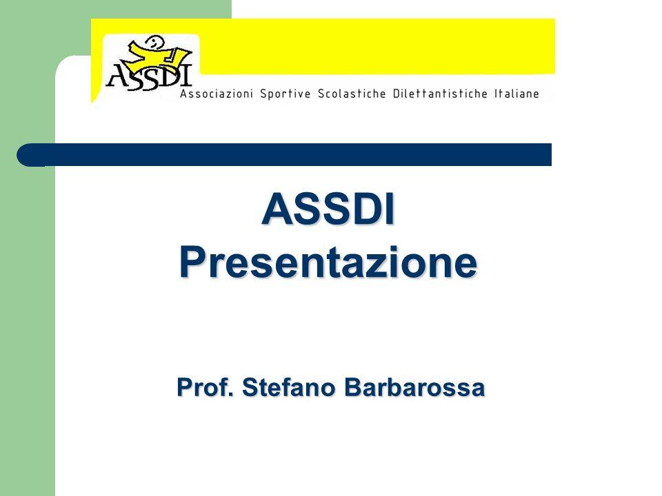 ASSDIPresentazione Prof. Stefano Barbarossa