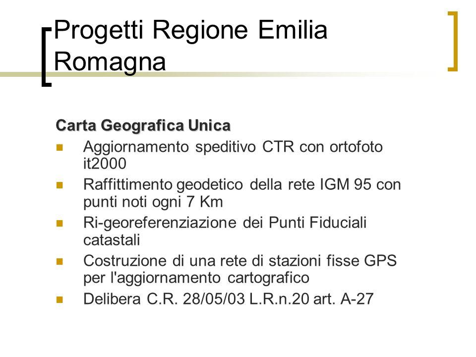 IL PROGETTO nella provincia di Ferrara Sviluppo di alcune attività sulle banche dati geografiche dei Comuni Il processo di decentramento del catasto Progetto Carta Geografica Unica per il miglioramento della qualità dei dati