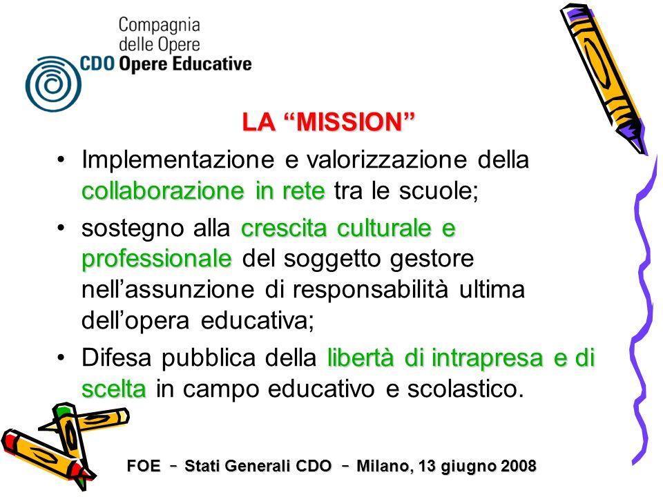 LA MISSION collaborazione in reteImplementazione e valorizzazione della collaborazione in rete tra le scuole; crescita culturale e professionalesosteg