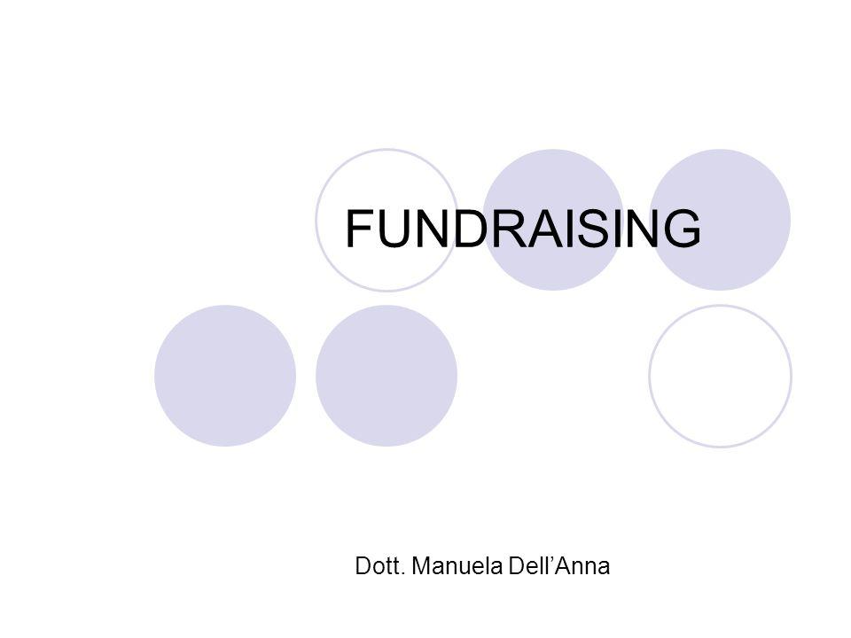 FUNDRAISING Dott. Manuela DellAnna