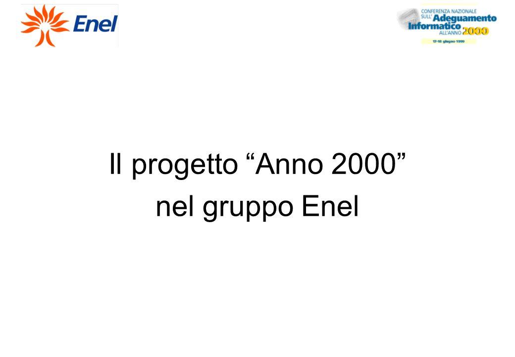 Il progetto Anno 2000 nel gruppo Enel