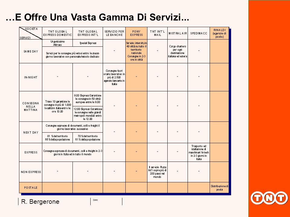 Date: R. Bergerone …E Offre Una Vasta Gamma Di Servizi...