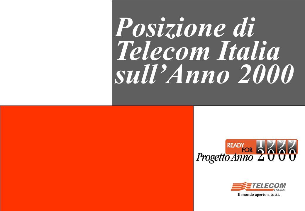 Posizione di Telecom Italia sullAnno 2000