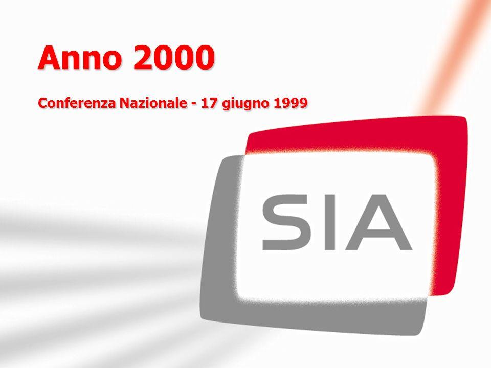 Anno 2000 Conferenza Nazionale - 17 giugno 1999