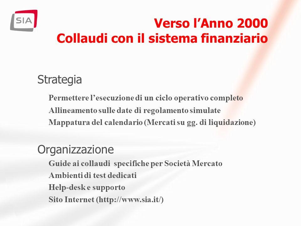 I nostri sistemi coinvolti:. Rete Nazionale Interbancaria *.