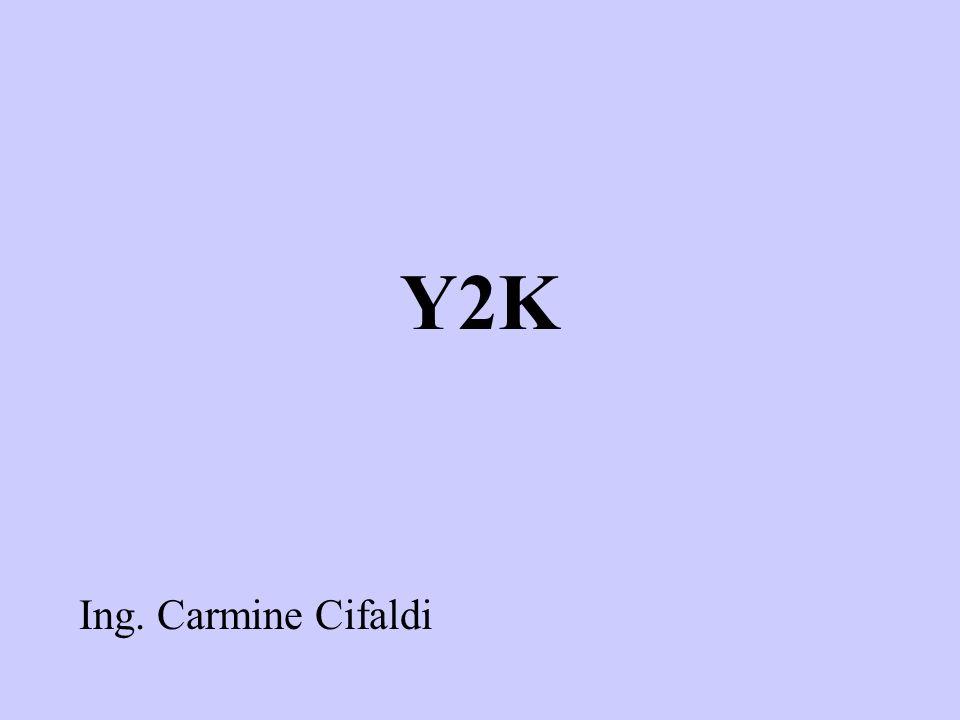 Y2K Ing. Carmine Cifaldi
