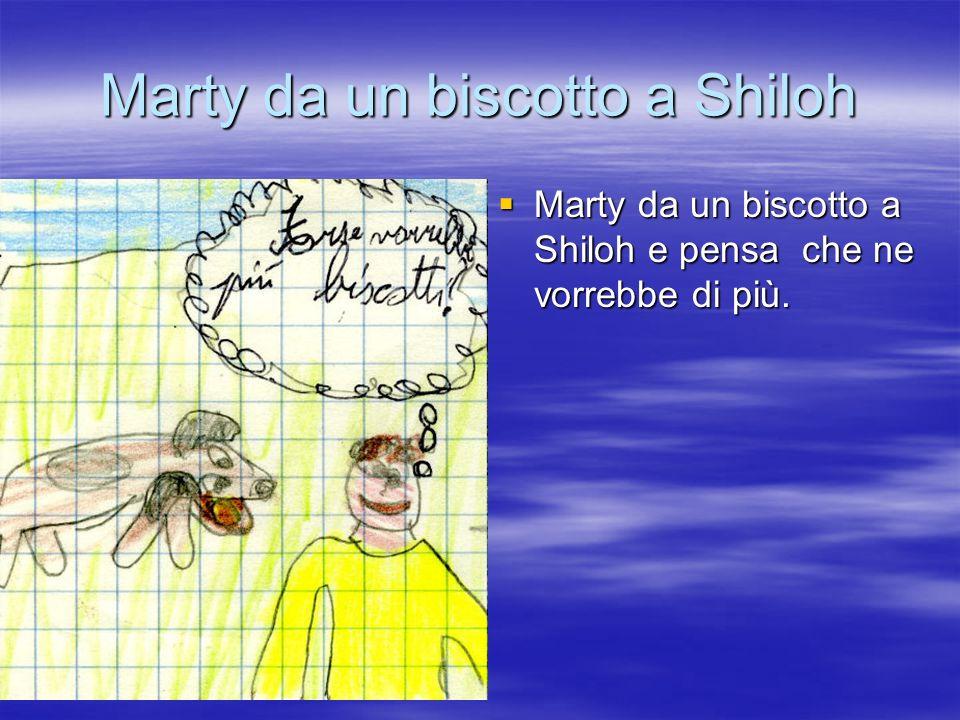 Marty e Shiloh correranno Marty dice a shiloh che adesso correrano