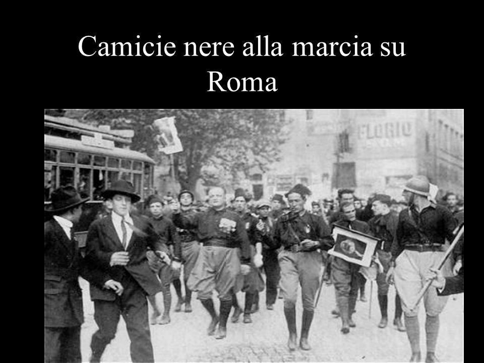 Camicie nere alla marcia su Roma