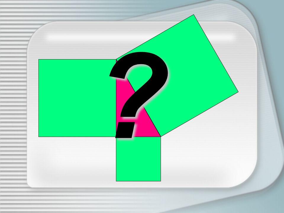 Coloriamo con colori differenti le porzioni del quadrato così ottenute e il quadrato costruito sullaltro cateto Muoviamo ora i pezzi così ottenuti in modo da ricoprire il quadrato costruito sullipotenusa IL PUZZLE È COMPLETO!!!
