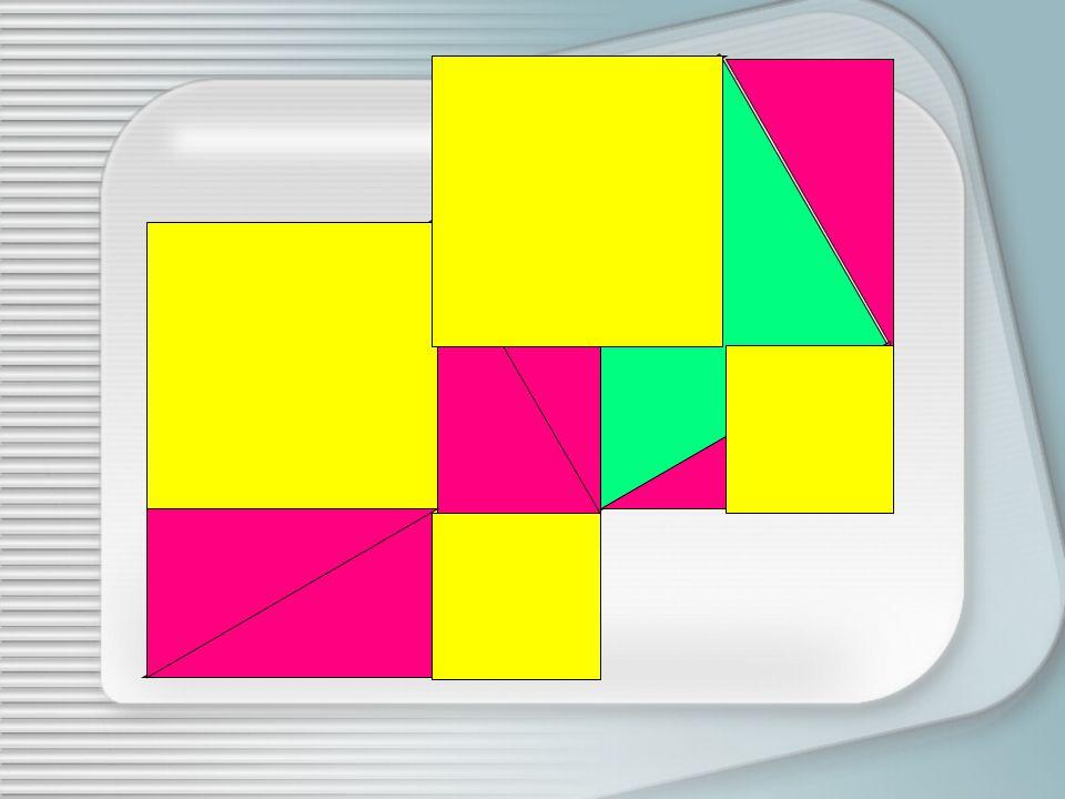 Ora riduciamo la differenza fra le lunghezze dei cateti del triangolo e ripetiamo la suddivisione del quadrato costruito sullipotenusa