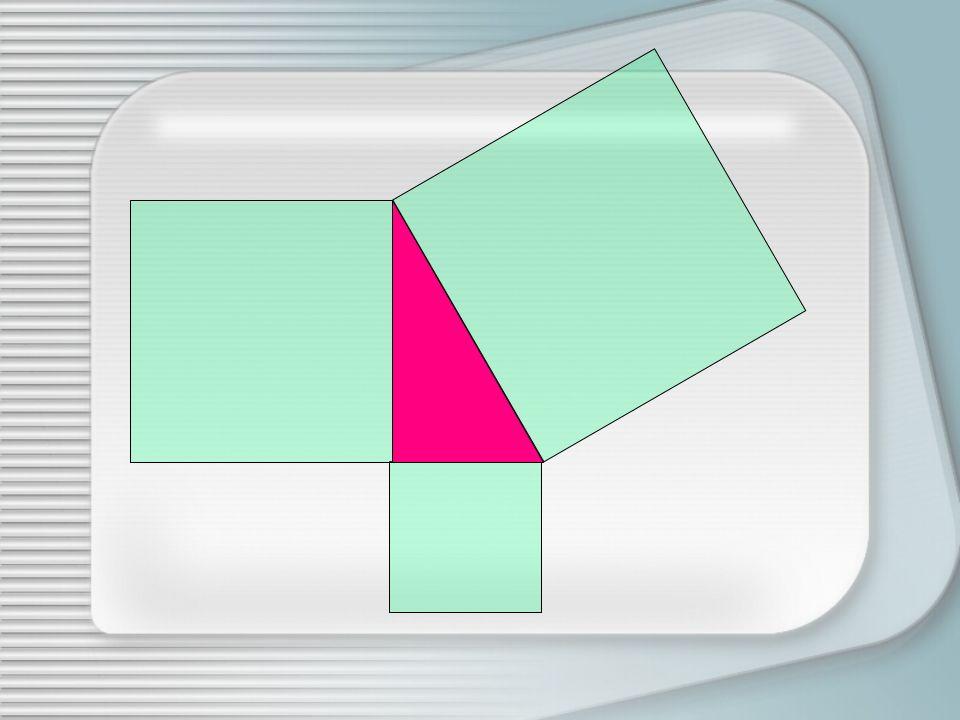 Prolunghiamo il lato orizzontale superiore del quadrato costruito sul cateto maggiore Prolunghiamo il lato verticale destro del quadrato costruito sul cateto minore, fino ad incontrare il segmento precedentemente costruito Tracciamo la parallela al cateto maggiore a partire dal vertice in alto a destra, fino ad incontrare la perpendicolare Misuriamo la lunghezza di questultimo segmento Coloriamo con colori differenti le porzioni del quadrato costruito sullipotenusa così ottenute Riportiamo questa lunghezza sul primo segmento costruito a partire dal piede della perpendicolare verso sinistra Dallestremo sinistro tracciamo verso lalto il segmento perpendicolare fino ad incontrare il lato superiore del quadrato