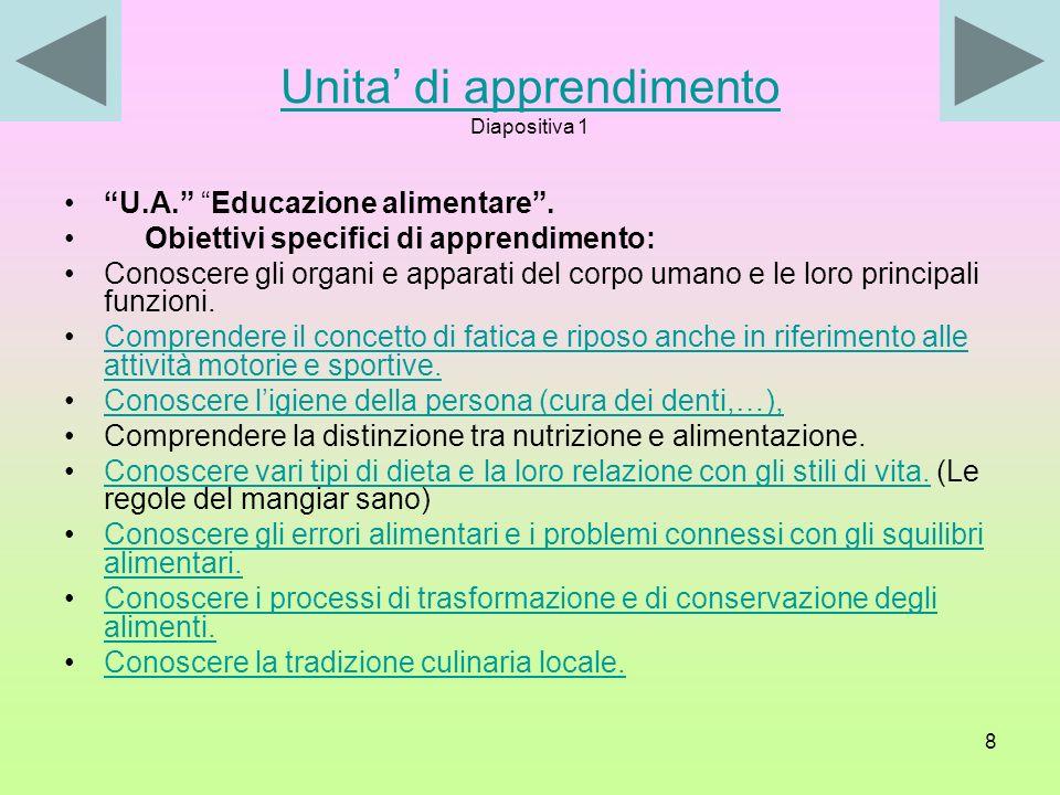 7 Rapporto tra scuola e territorio La scuola deve, in collaborazione stretta con le famiglie, con le altre agenzie educative operanti sul territorio e