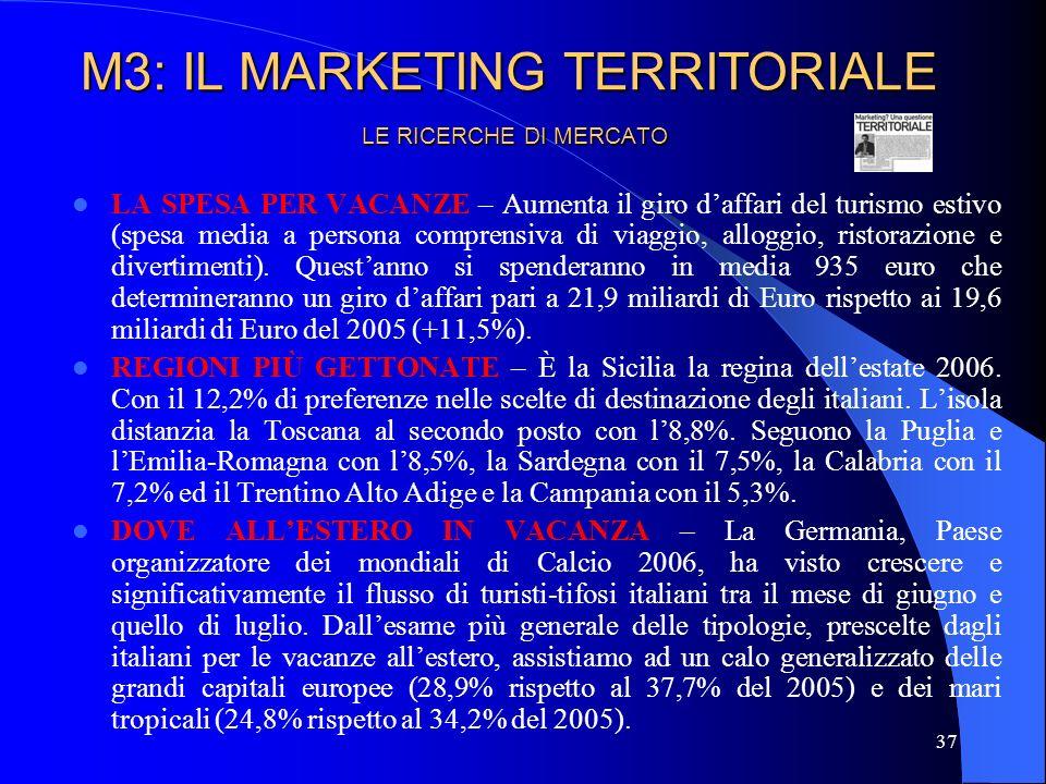 38 LE RICERCHE DI MERCATO: CASE HISTORY CAMPAGNA PUBBLICITARIA MAROCCO IL PROBLEMA.