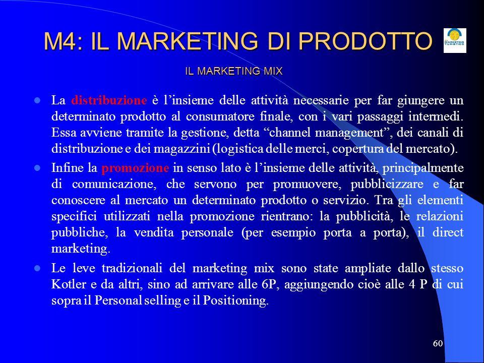 61 IL MARKETING MIX Il personal selling è linsieme delle attività di supporto e informazione per il potenziale cliente, da intendersi come attività a valore aggiunto per lacquirente, svolte per esempio dallintermediario o dal venditore stesso.
