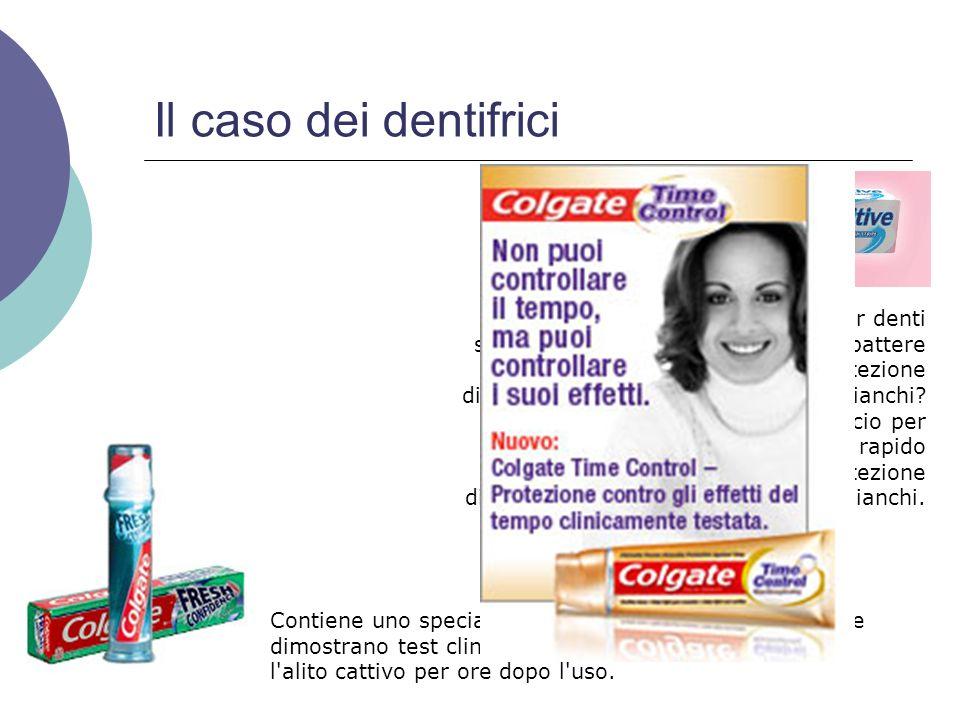 Il caso dei dentifrici Non vorresti un dentifricio per denti sensibili che non solo ti aiuti a combattere il dolore ma ti dia inoltre una protezione d
