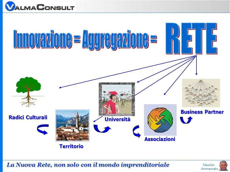 Maurizio Ammannato Radici Culturali Business Partner Associazioni Università Territorio La Nuova Rete, non solo con il mondo imprenditoriale