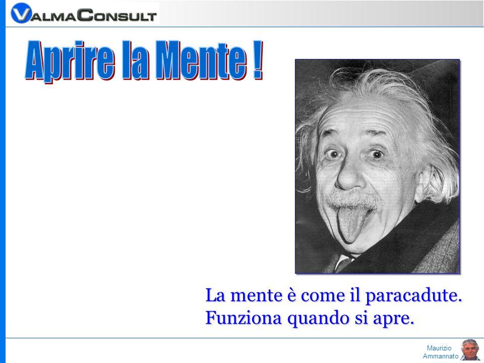 Maurizio Ammannato La mente è come il paracadute. Funziona quando si apre.