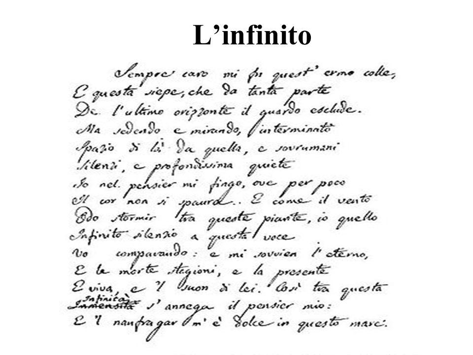 Linfinito