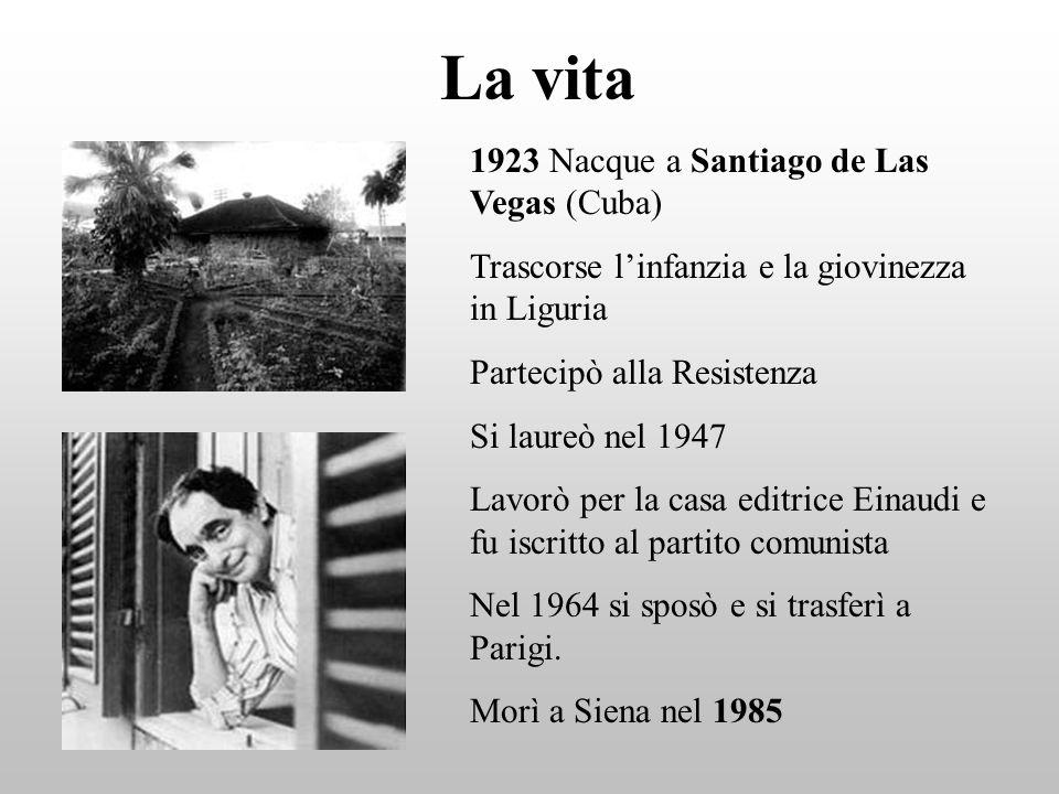 La vita 1923 Nacque a Santiago de Las Vegas (Cuba) Trascorse linfanzia e la giovinezza in Liguria Partecipò alla Resistenza Si laureò nel 1947 Lavorò