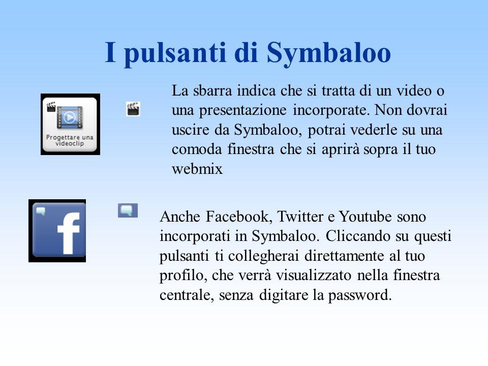 I pulsanti di Symbaloo La sbarra indica che si tratta di un video o una presentazione incorporate.