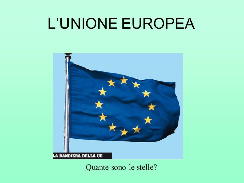 LUNIONE EUROPEA Quante sono le stelle?