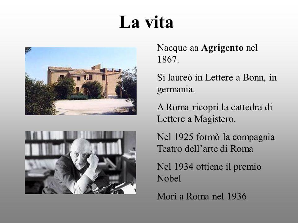 La vita Nacque aa Agrigento nel 1867. Si laureò in Lettere a Bonn, in germania. A Roma ricoprì la cattedra di Lettere a Magistero. Nel 1925 formò la c